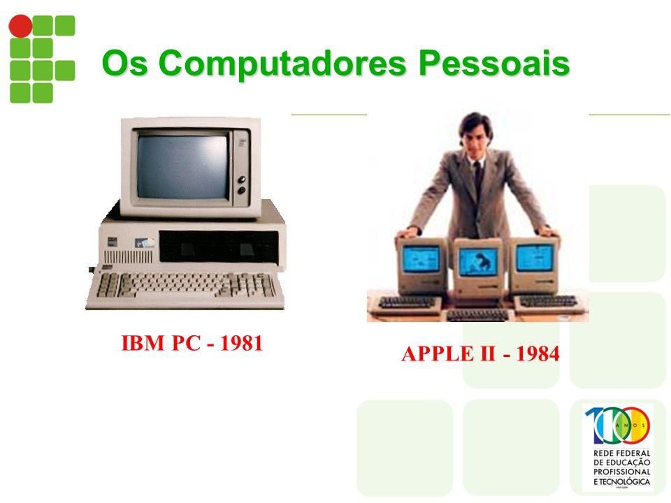 Os Computadores Pessoais