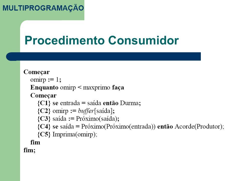 Procedimento Consumidor