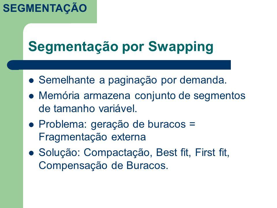 Segmentação por Swapping