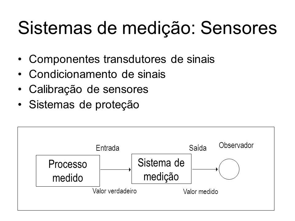 Sistemas de medição: Sensores