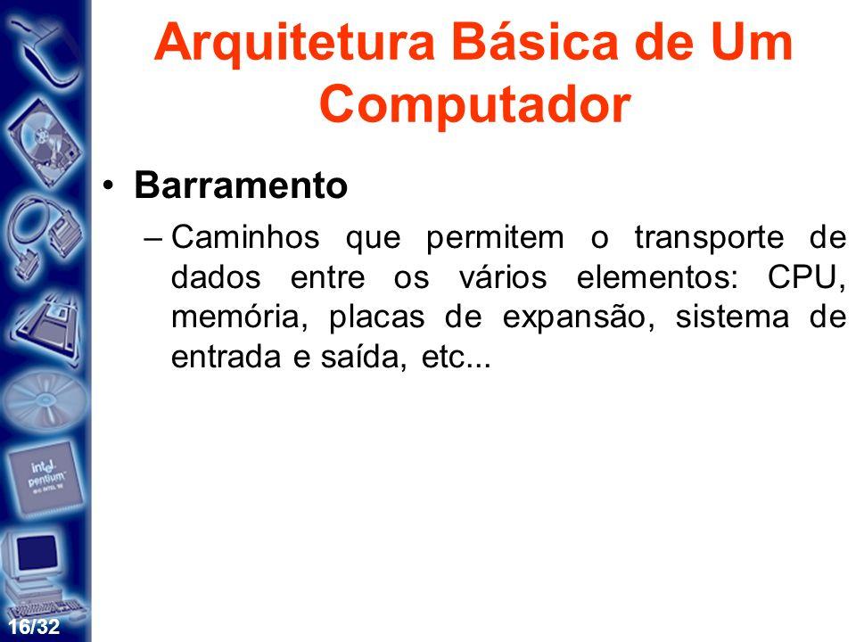Arquitetura Básica de Um Computador