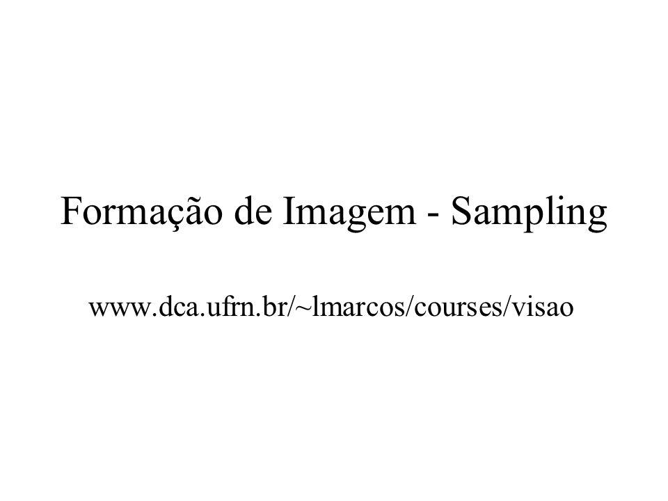 Formação de Imagem - Sampling