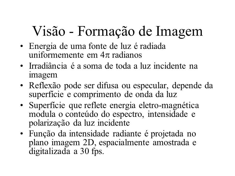 Visão - Formação de Imagem