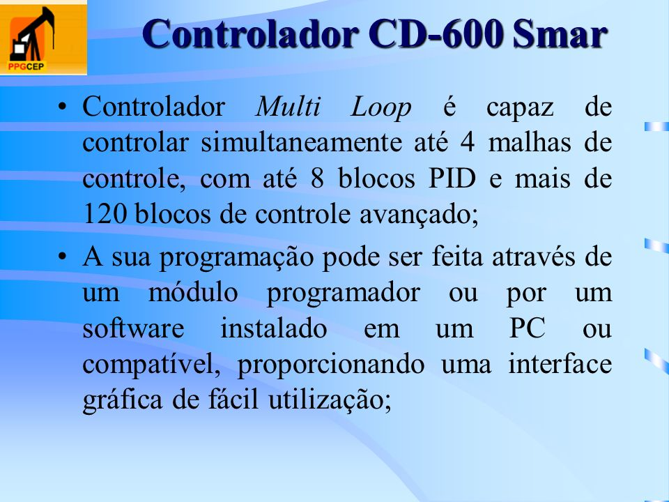 Controlador CD-600 Smar