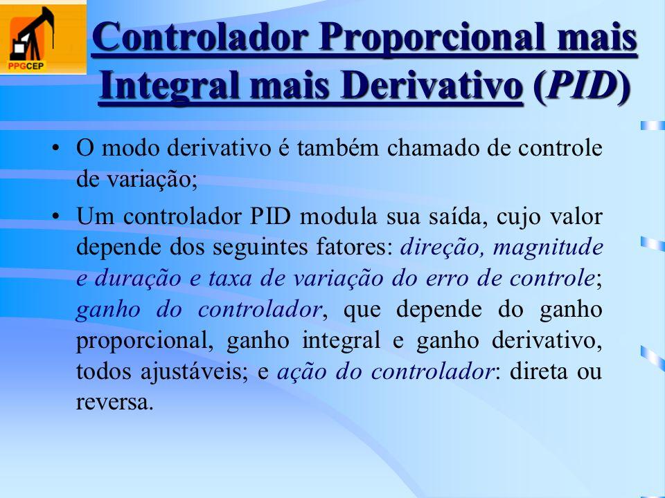 Controlador Proporcional mais Integral mais Derivativo (PID)