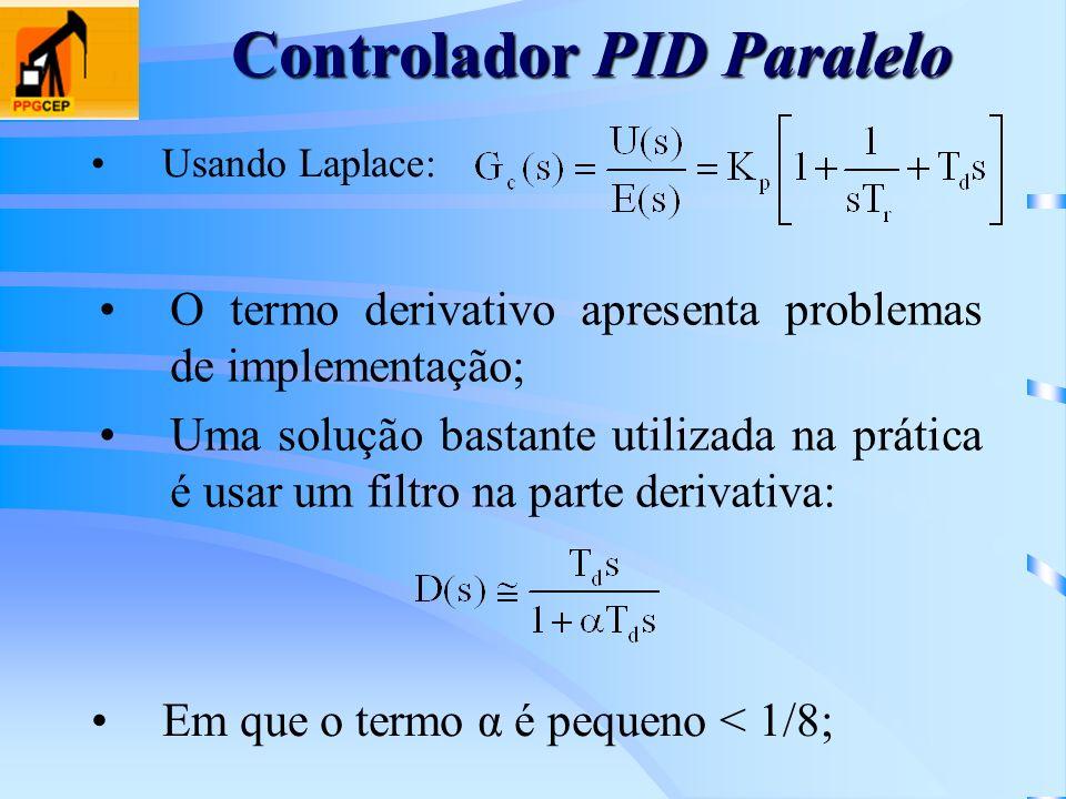 Controlador PID Paralelo