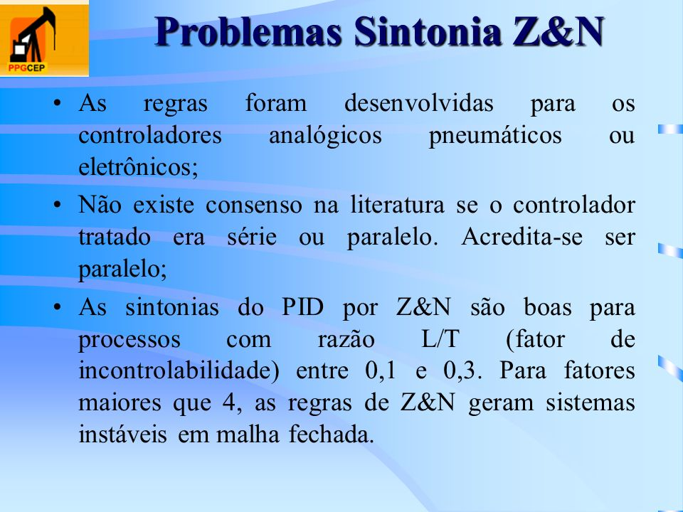 Problemas Sintonia Z&N