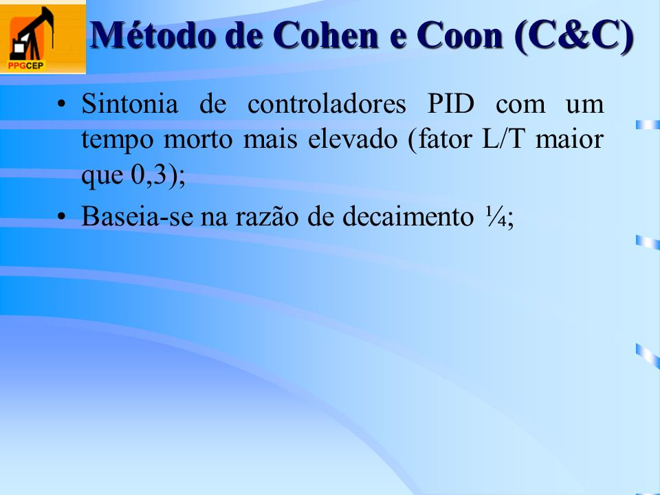 Método de Cohen e Coon (C&C)