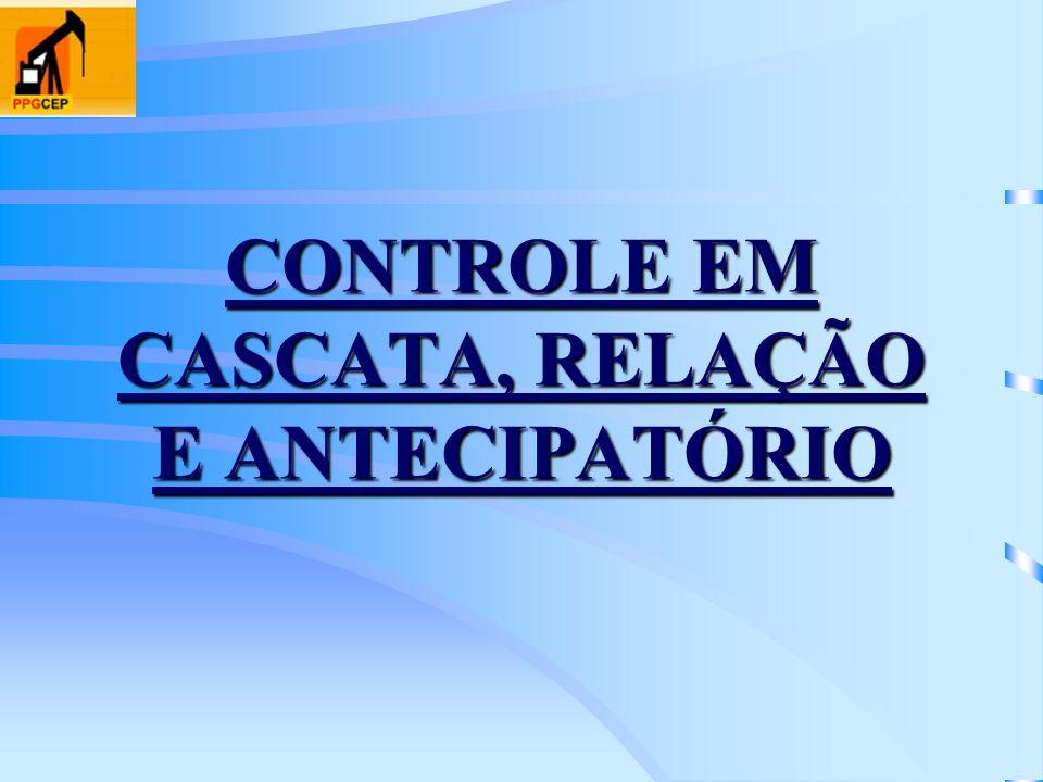 CONTROLE EM CASCATA, RELAÇÃO E ANTECIPATÓRIO