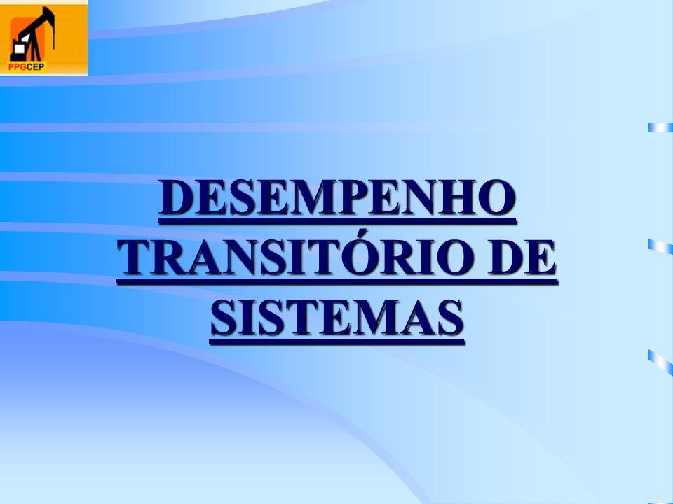 DESEMPENHO TRANSITÓRIO DE SISTEMAS