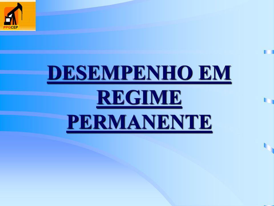 DESEMPENHO EM REGIME PERMANENTE