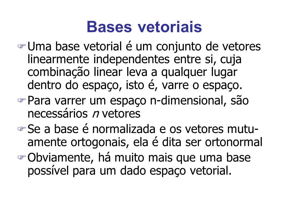 Bases vetoriais