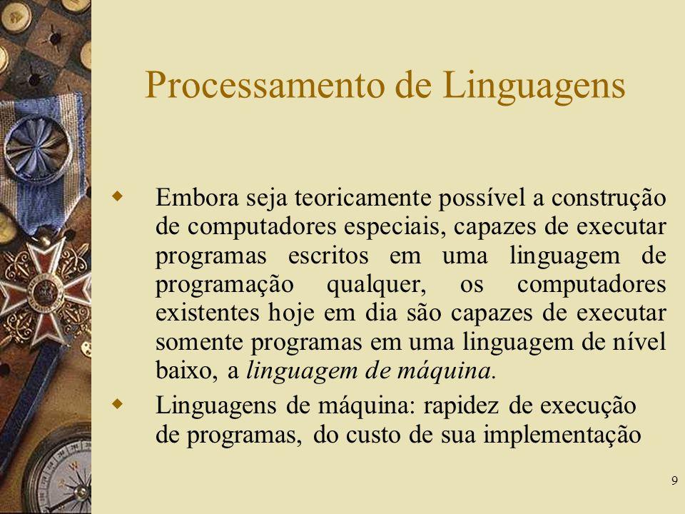 Processamento de Linguagens