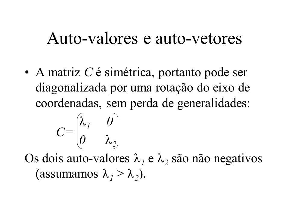 Auto-valores e auto-vetores