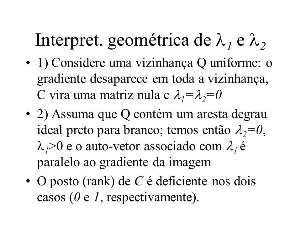 Interpret. geométrica de 1 e 2