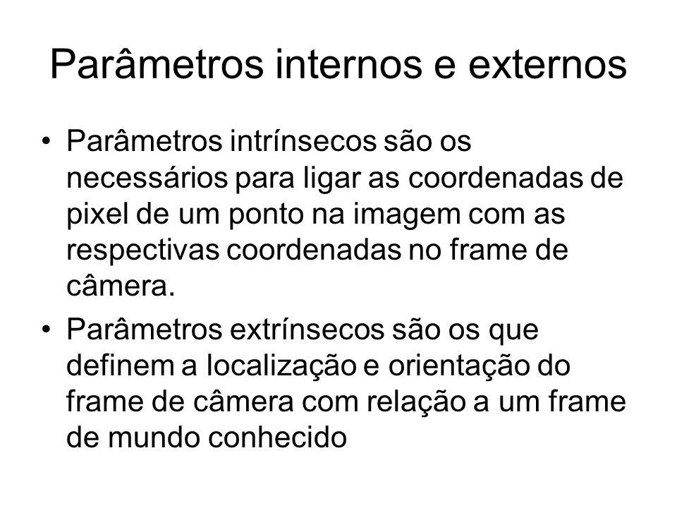 Parâmetros internos e externos