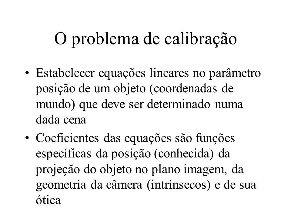 O problema de calibração