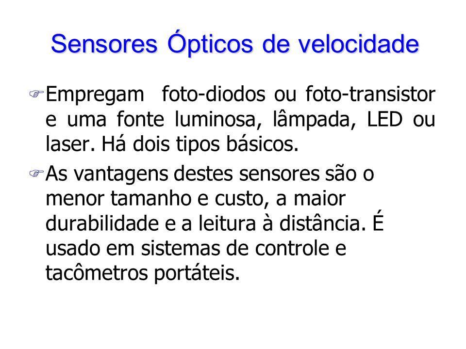 Sensores Ópticos de velocidade