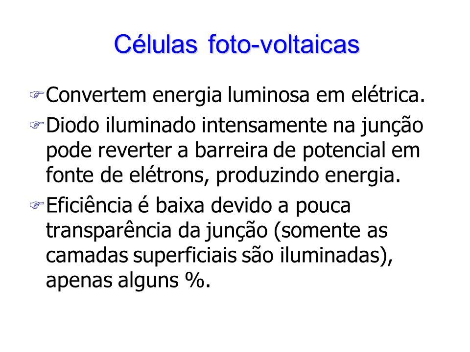 Células foto-voltaicas