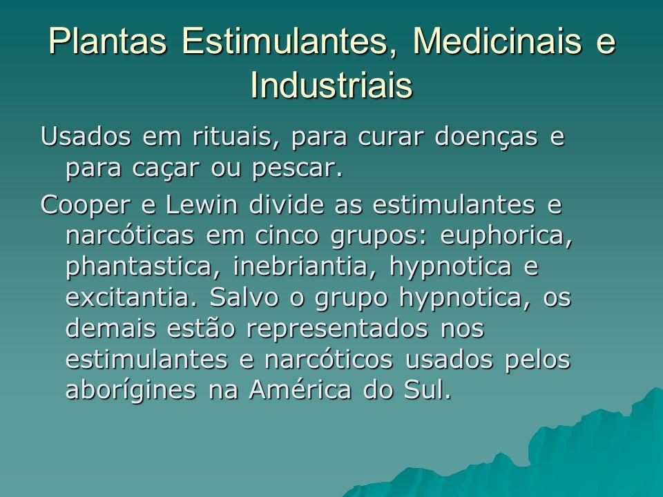 Plantas Estimulantes, Medicinais e Industriais