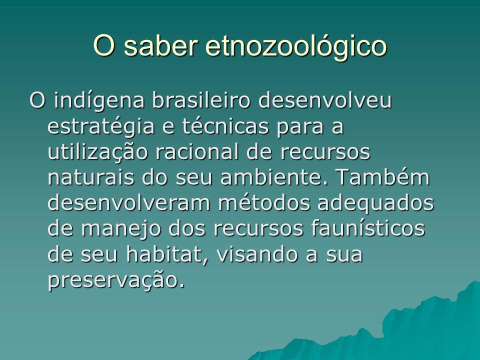O saber etnozoológico
