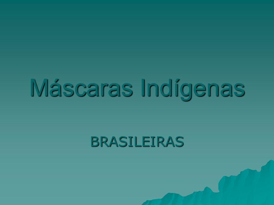 Máscaras Indígenas BRASILEIRAS