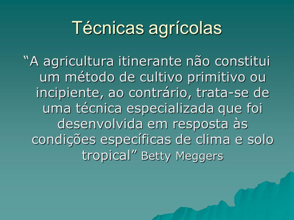 Técnicas agrícolas