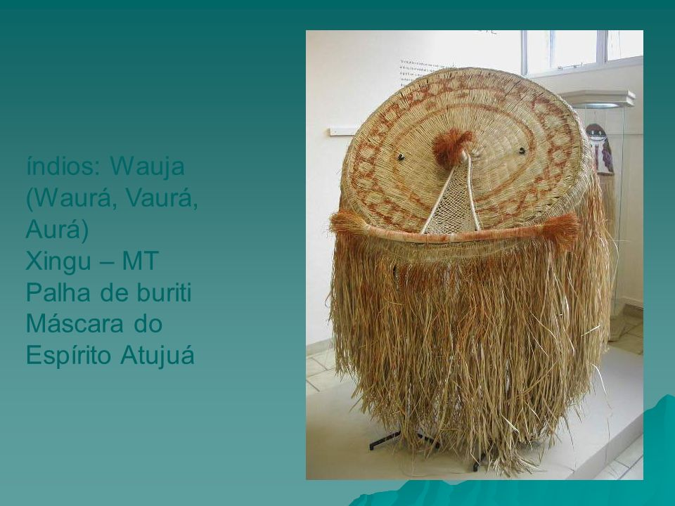 índios: Wauja (Waurá, Vaurá, Aurá)