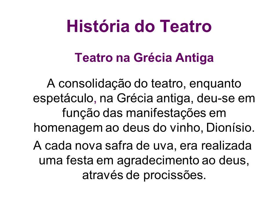 Teatro na Grécia Antiga