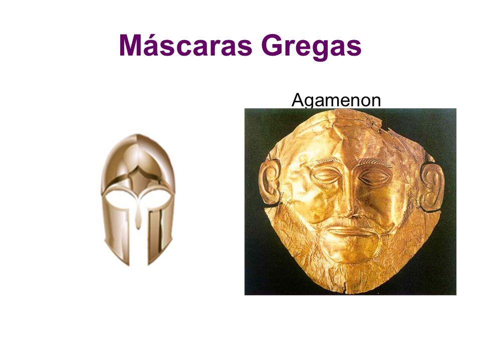 Máscaras Gregas Agamenon