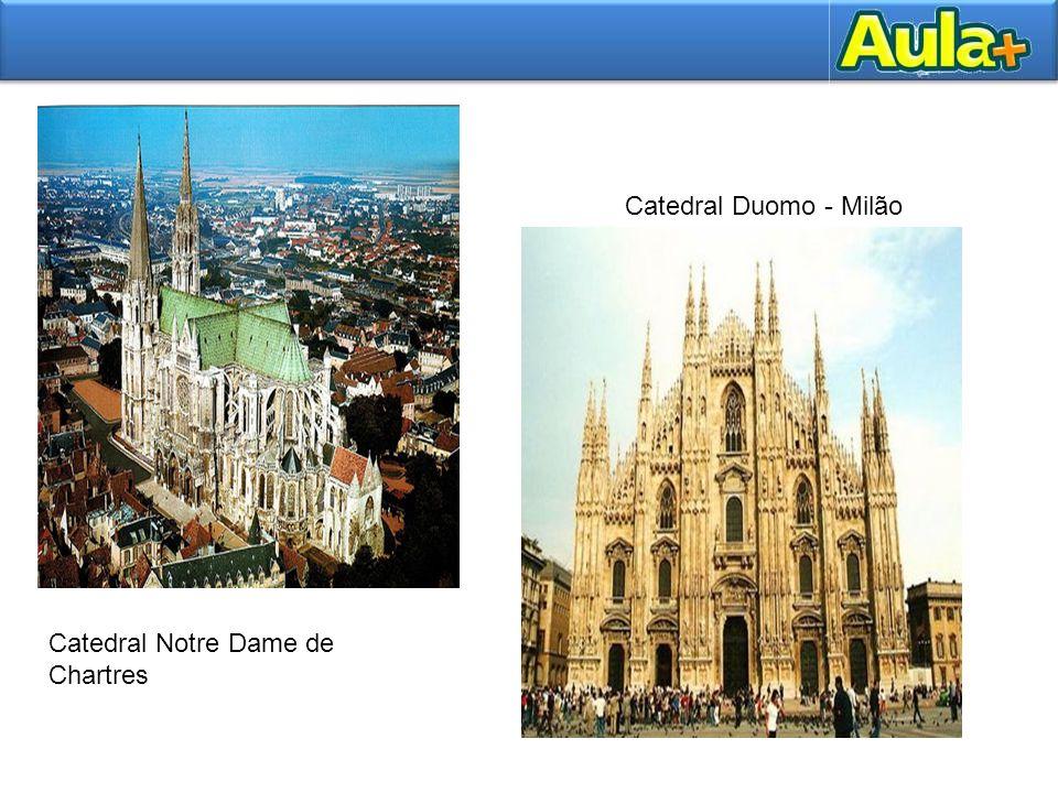 Catedral Duomo - Milão Catedral Notre Dame de Chartres