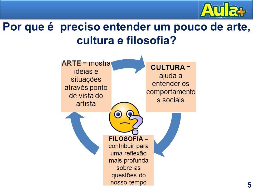 Por que é preciso entender um pouco de arte, cultura e filosofia
