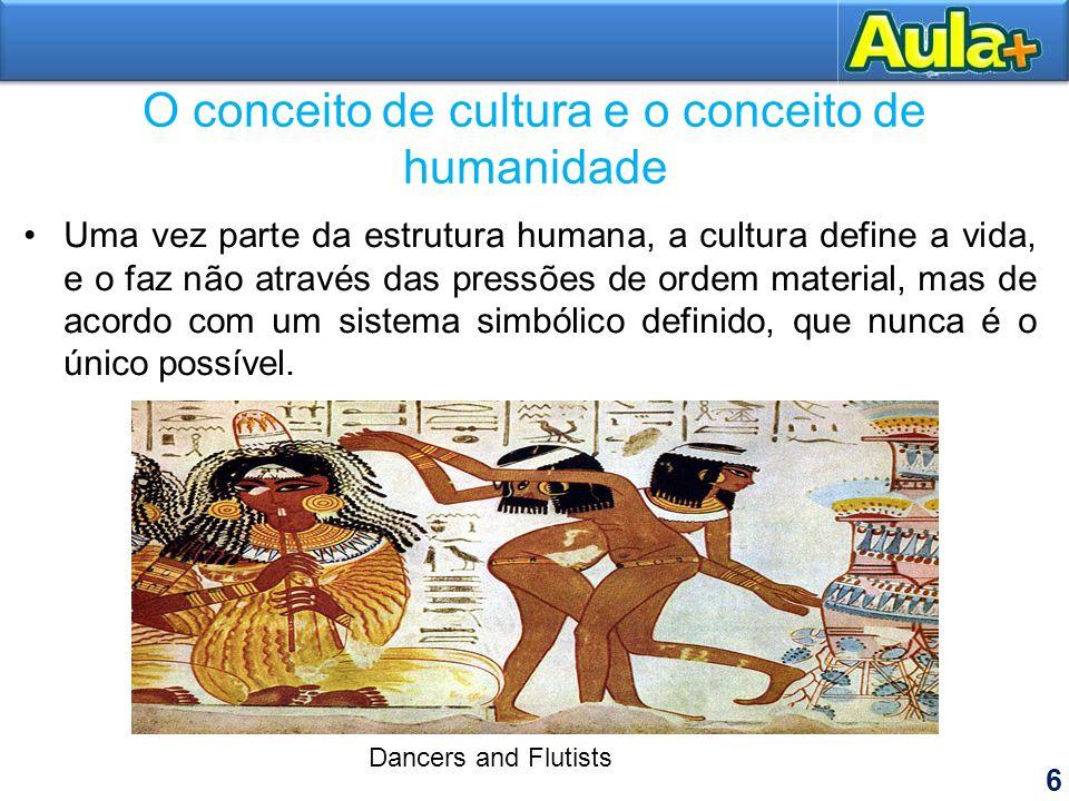O conceito de cultura e o conceito de humanidade