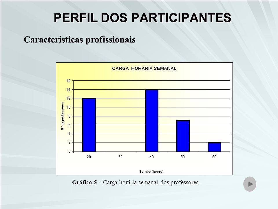 Características profissionais