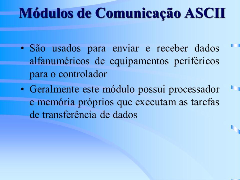 Módulos de Comunicação ASCII