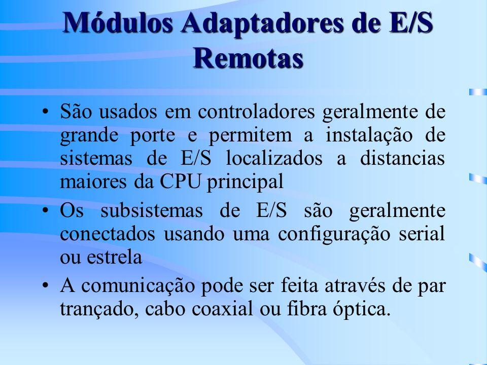 Módulos Adaptadores de E/S Remotas