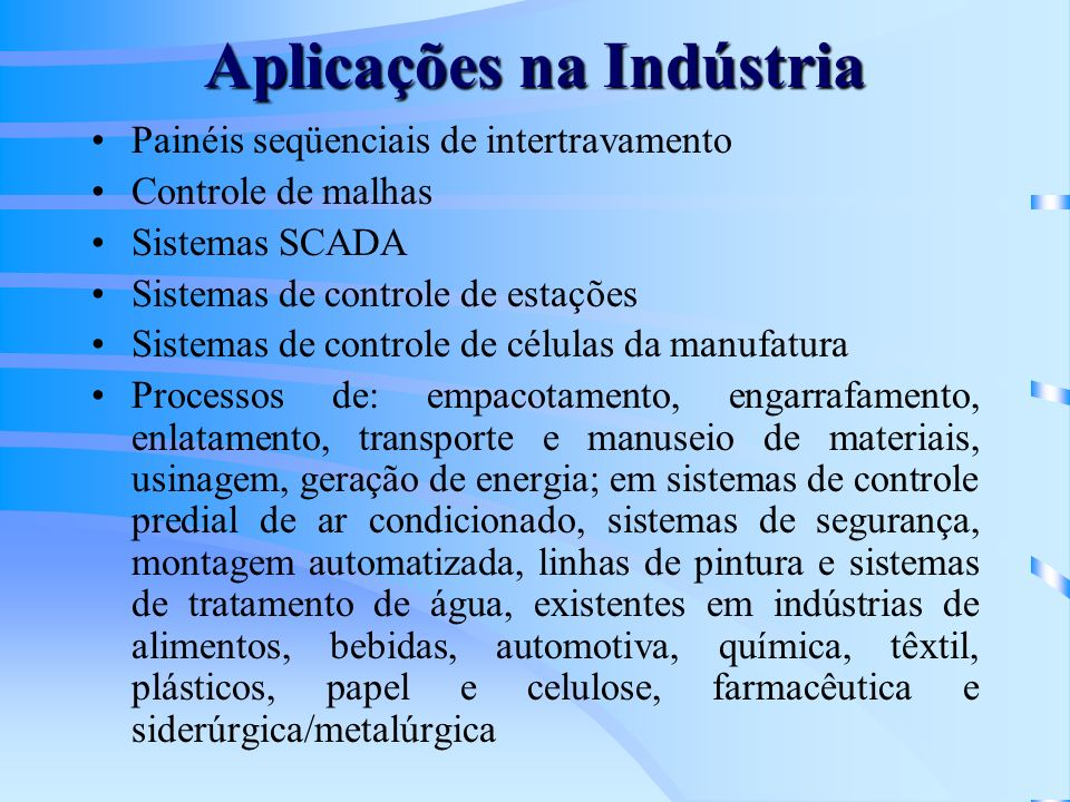 Aplicações na Indústria