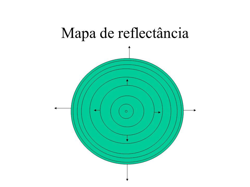 Mapa de reflectância