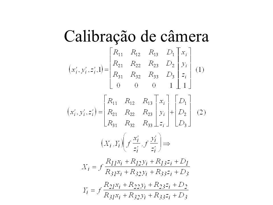 Calibração de câmera