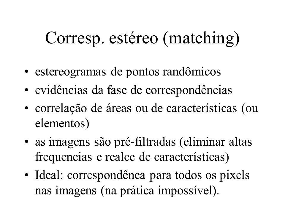 Corresp. estéreo (matching)