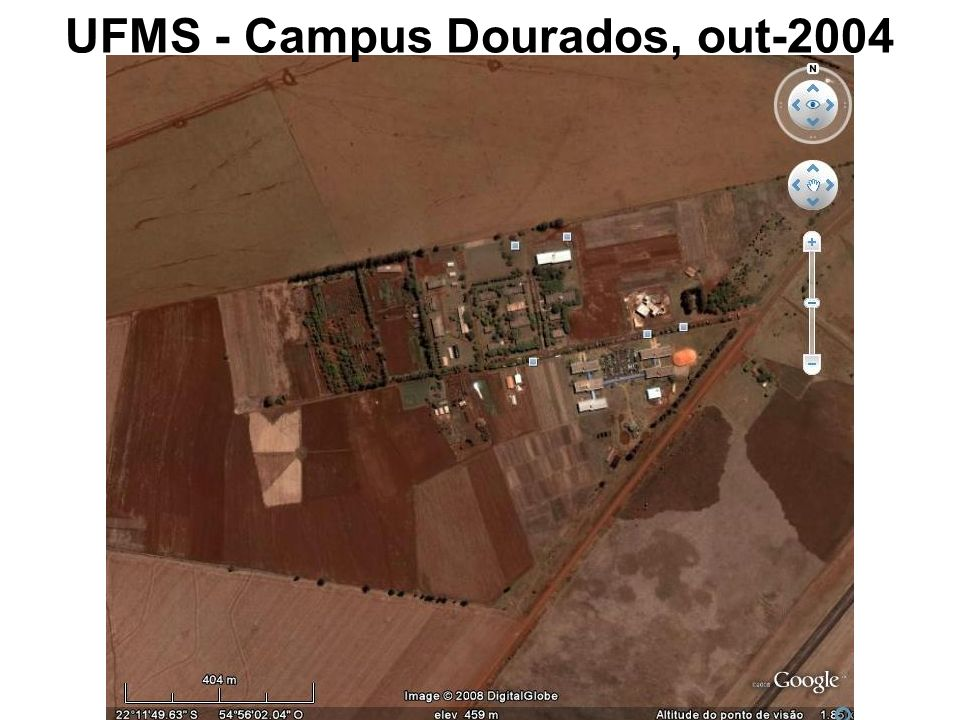 UFMS - Campus Dourados, out-2004