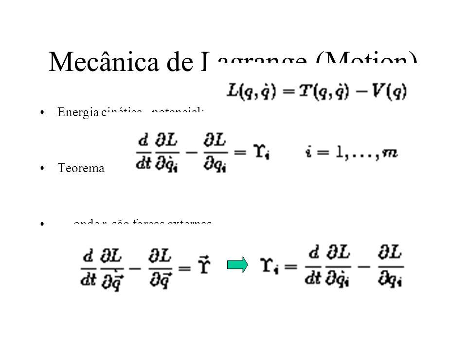 Mecânica de Lagrange (Motion)
