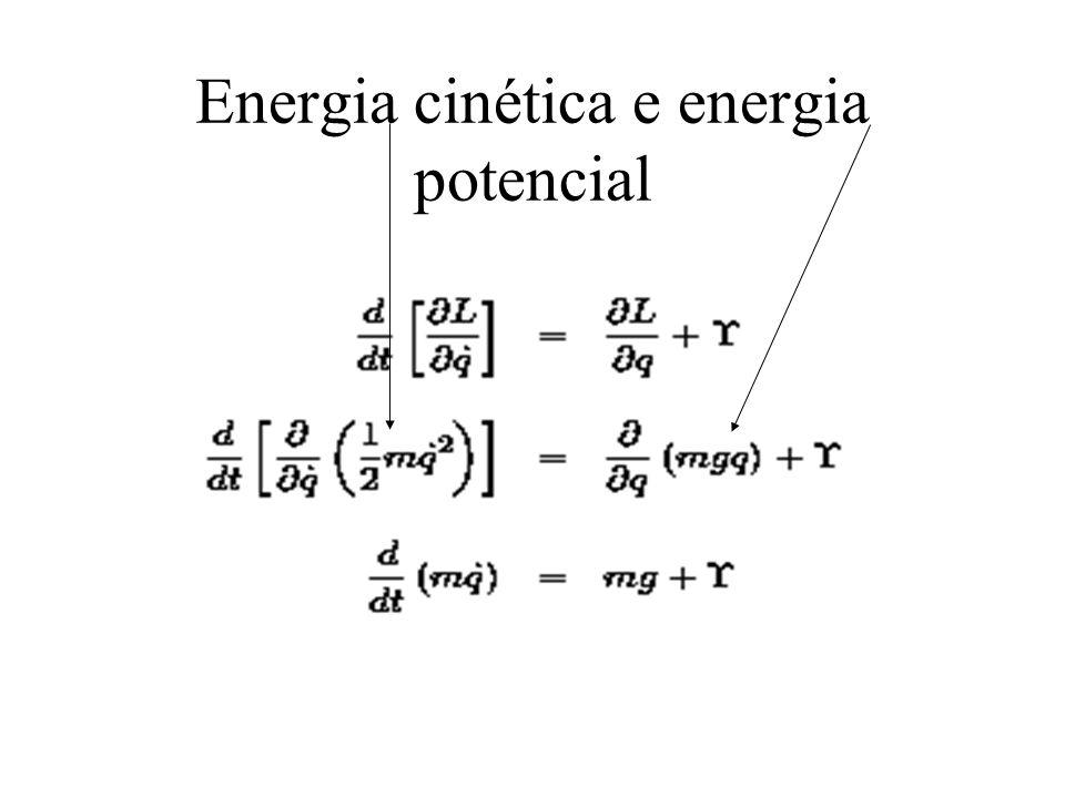 Energia cinética e energia potencial