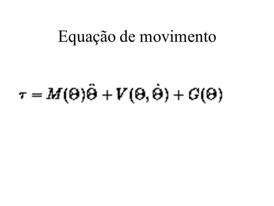 Equação de movimento