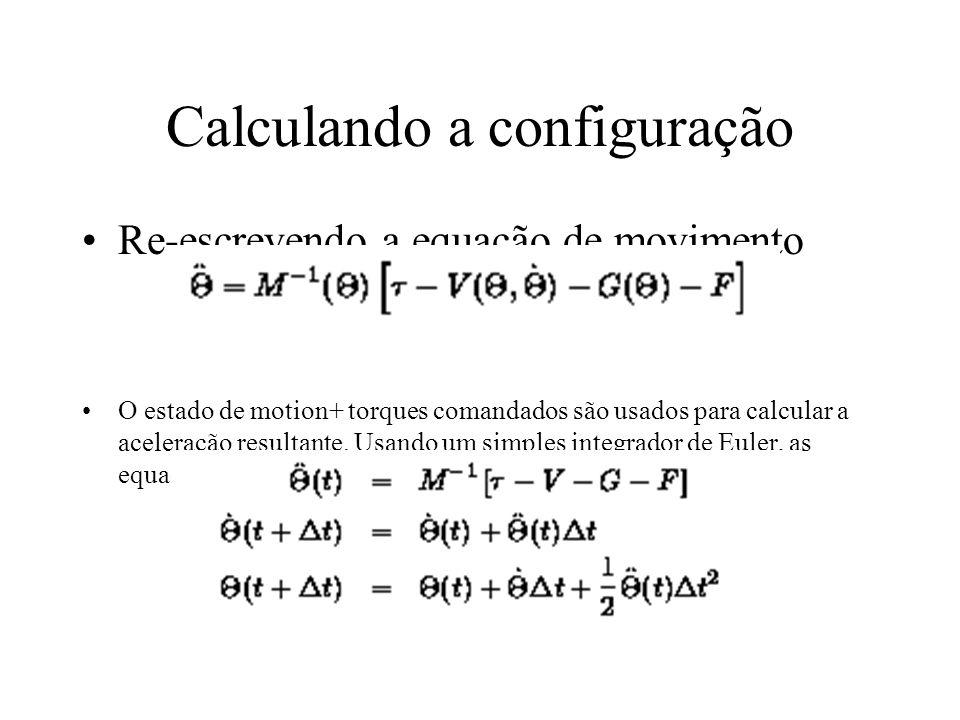 Calculando a configuração