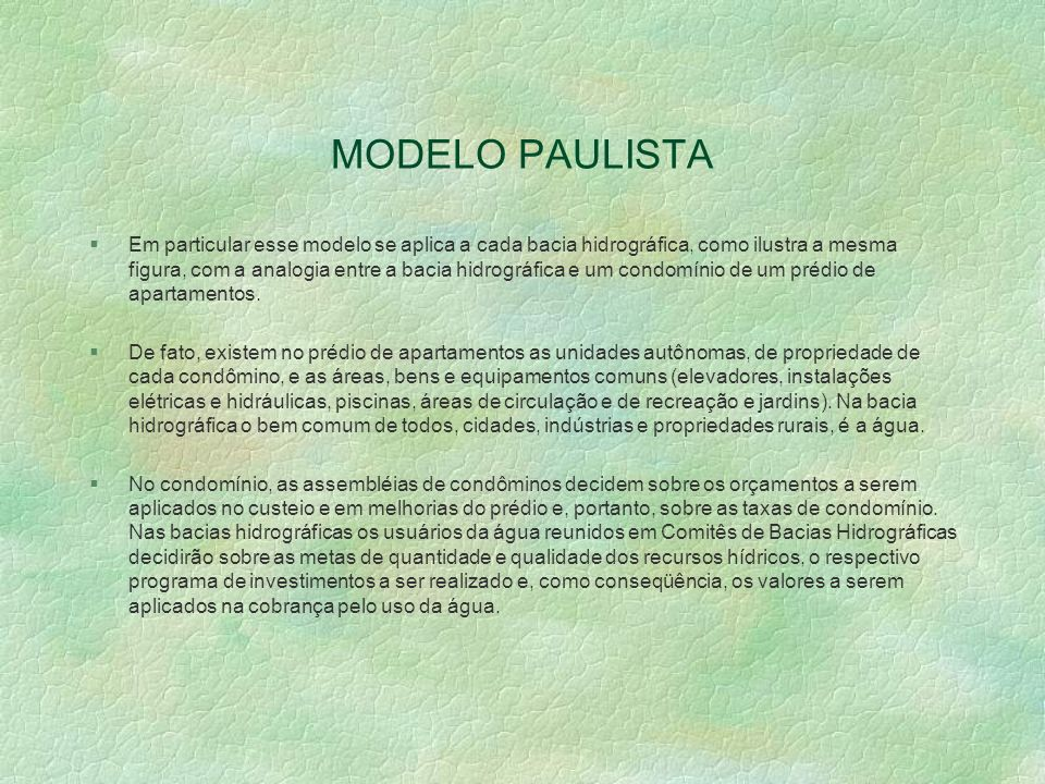 MODELO PAULISTA