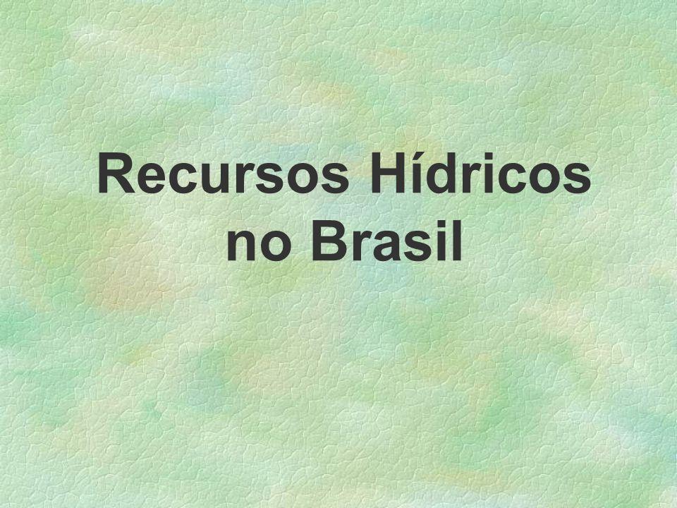 Recursos Hídricos no Brasil