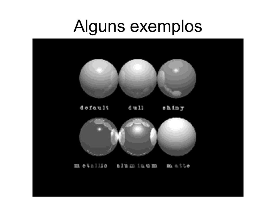 Alguns exemplos