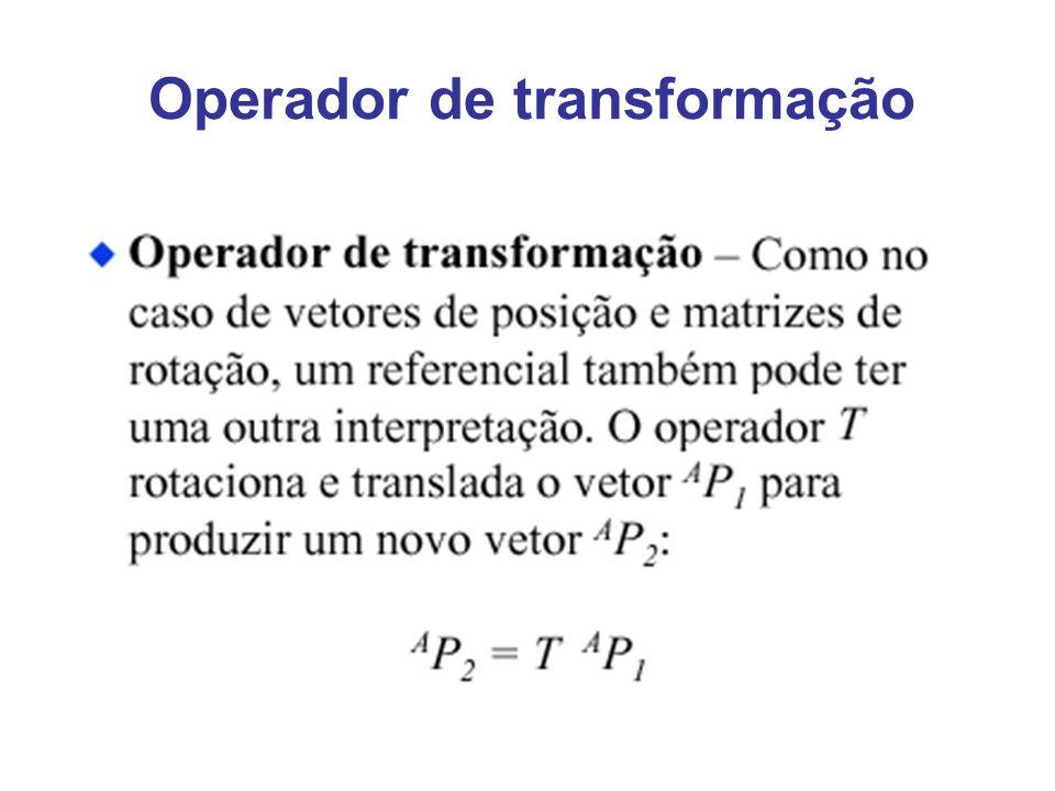 Operador de transformação