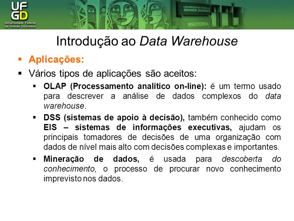 Introdução ao Data Warehouse